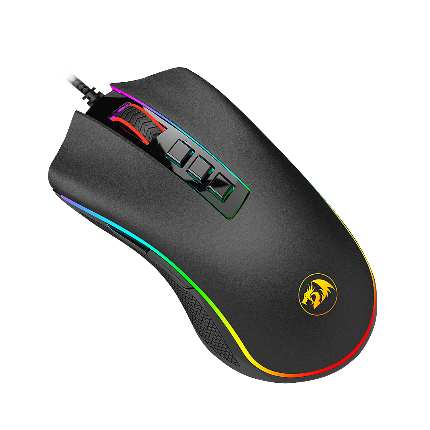 MOUSE REDRAGON M711 COBRA RGB OPTICO 10000DPI