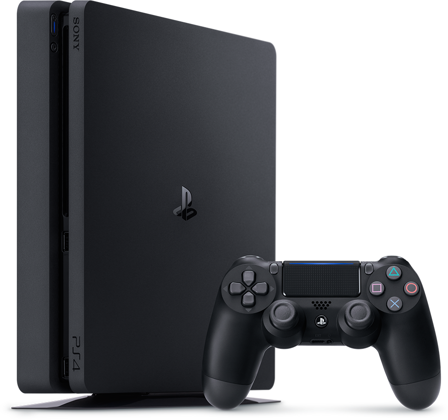 PS4 - SONY PLAY 4 SLIM 500GB + JOYSTICK